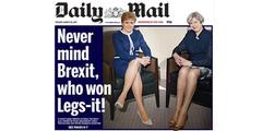 «Daily Mail»-Titelseite: «Entsetzlicher Sexismus».