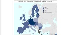 Der Lohnunterschied ist in Estland, Deutschland, Österreich und Tschechien am grössten.