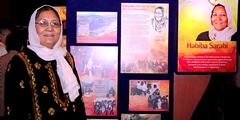 Habiba Sarabi anlässlich der Auszeichnung mit dem «Ramon Magsaysay Award».