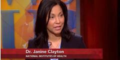 Janine Clayton von den Nationalen Gesundheitsinstituten will geeignetere Medikamente für Frauen.