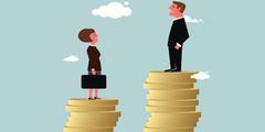 Frauen verdienen weniger als Männer.