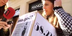 Arantxa Calvera sammelt Unterschriften gegen «Mango»-Kollektion
