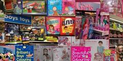 Nicht mehr im Trend: Nach Geschlechtern getrennte Spielwaren.