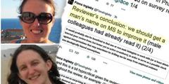 Megan Head (oben) und Fiona Ingleby akzeptierten sexistisches Gutachten nicht.