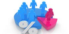 Eine Quote erhöht den Frauenanteil in den Aufsichtsgremien von Unternehmen.