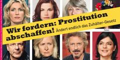 Prominente forderten 2013 in der Zeitschrift «Emma», Prostitution in Deutschland abzuschaffen.
