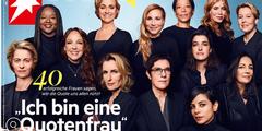 Quotenfrauen auf der Titelseite der Zeitschrift «Stern».