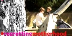 Unter dem Hashtag #regrettingmotherhood wird über die Mutterrolle debattiert.