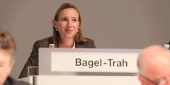 Simone Bagel-Trah, Aufsichtsratsvorsitzende des Henkel-Konzerns, der die Quote bereits erfüllt hat.