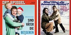 In Scheidungsfällen sind Vorwürfe an Mütter nicht neu: «Der Spiegel» 2015 (links) und 1980 (rechts).