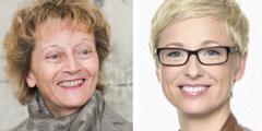 Eveline Widmer-Schlumpf (links) und Doris Hummer (rechts) haben ihre Regierungsämter verloren.