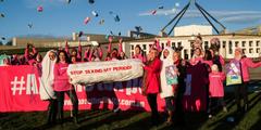 Australierinnen forderten seit Jahren, die Mehrwertsteuer auf Tampons abzuschaffen.
