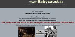 Auf www.babycaust.de veröffentlichte der Abtreibungsgegner die Anschriften der beiden Ärzte.