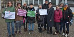Mitglieder der Grünen Vorarlberg solidarisierten sich mit Carmen Willi.