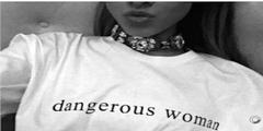 Ariana Grande bezeichnet sich in den sozialen Medien als «dangerous woman».
