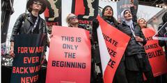 Aus dem Frauenmarsch ist eine politische Bewegung geworden.