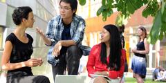 Campus der FU Berlin: Klischees beeinflussen den Frauenanteil in bestimmten Fächern.