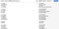 «Google Translate» übersetzt geschlechtsneutrale Sätze klischeehaft.