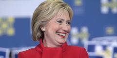 Hillary Clinton kann als erste Frau Regierungschefin der USA werden.