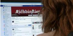 Digitale Zivilcourage: Facebook-Gruppe #ichbinhier.
