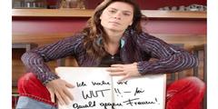 Spitzenköchin Sarah Wiener engagiert sich seit Jahren gegen gewalttätige Übergriffe auf Frauen.