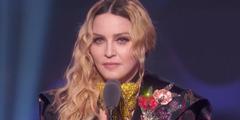 Madonna während ihrer Rede an der Preisverleihung «Billboard Music Awards».