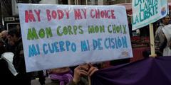Die belgische Regierung will das Selbstbestimmungsrecht von Frauen über ihren Körper stärken.