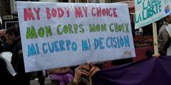 «Mein Körper, meine Entscheidung»: Das wollen christliche Fundamentalisten verhindern.