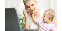 Junge Mütter sind oft nur vordergründig freiwillig Teilzeit erwerbstätig.