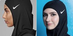 Hijab mit Nike-Logo: «Wer erobert hier wen?», fragte ein Kommentator.