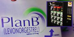 Die «Pille danach» (Plan B) ist an US-Universitäten an Automaten erhältlich.