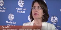 Randa Slim fordert, Frauen besser in die Syrien-Friedensgespräche einzubinden.