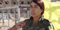 Kurdische Generalin Rojda Felat in Rakka: «Historischer Sieg für die Frauen.»