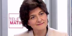 Sylvie Goulard ist die neue französische Verteidigungsministerin.