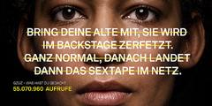 Frauenfeindlicher Rap-Text normalisiert verbale Gewalt gegen Frauen.
