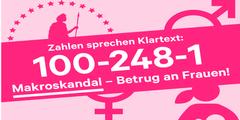 Einkommenslücke: 100 Milliarden. Wert der unbezahlten Arbeit von Frauen: 248 Milliarden.