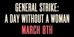 Streikaufruf von Aktivistinnen in den USA.