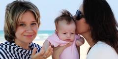 Stiefkind-Adoption: Die Partnerin adoptiert das Kind ihrer Lebensgefährtin.