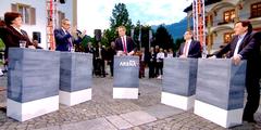 Vorwahlsendung im öffentlich-rechtlichen Schweizer Fernsehen: Frauen sind untervertreten.