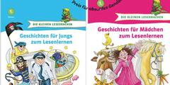 Das blaue Buch für Jungen und das rosarote Buch für Mädchen zementieren Rollenklischees.